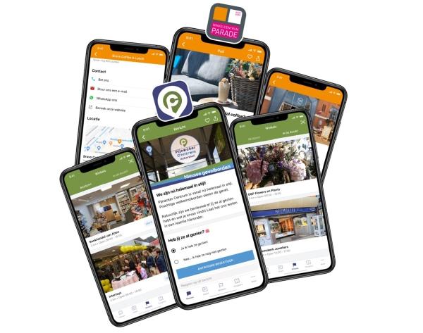 Apps van winkelcentra in Pijnacker-Nootdorp